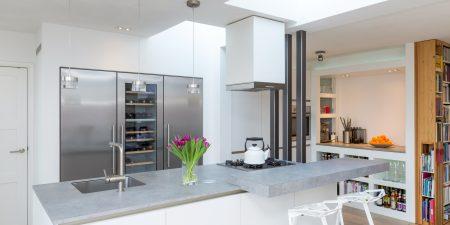 Keukenontwerp - verbouwing - woonhuis te Eindhoven