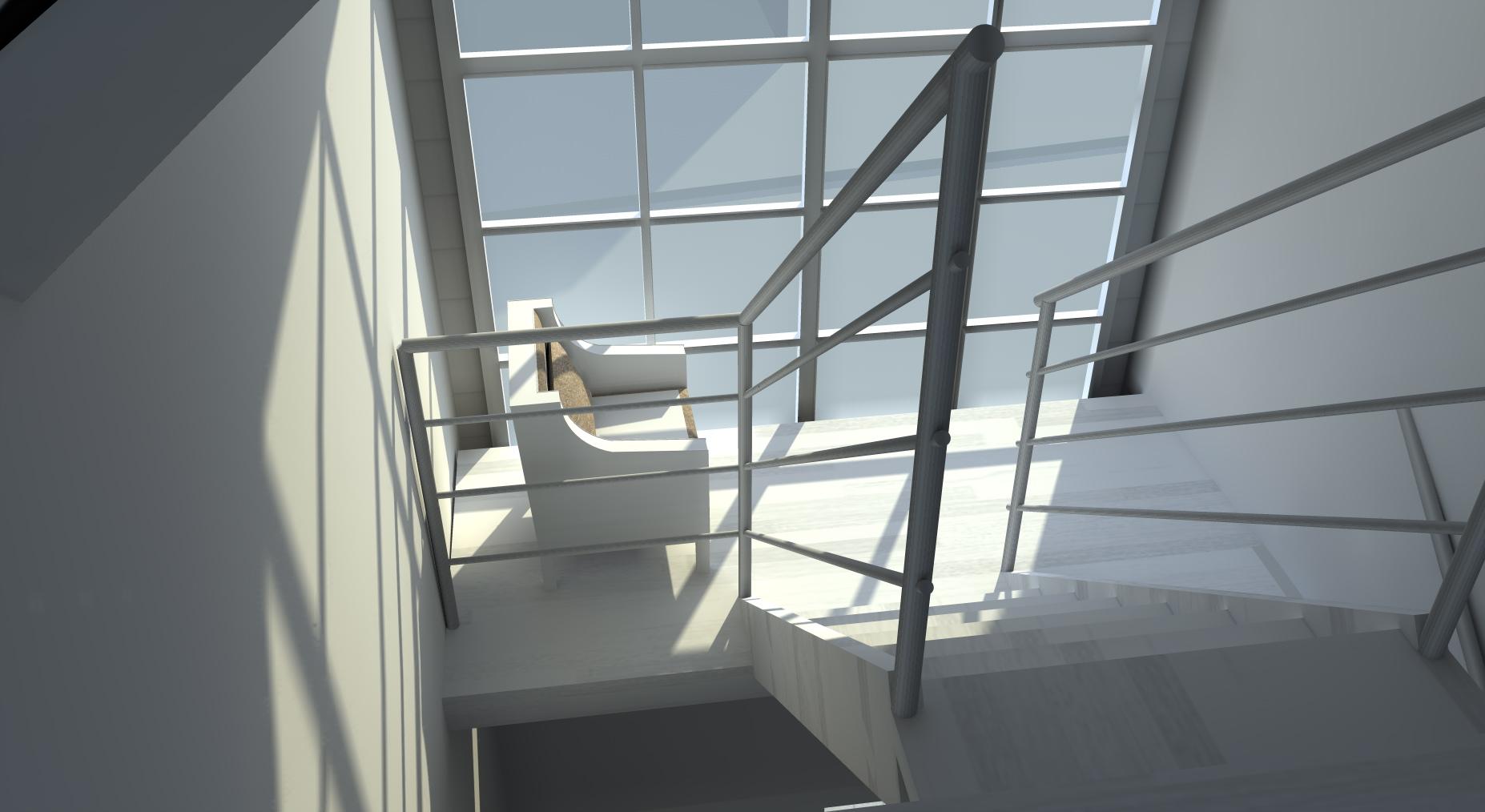 Uitbreiding voor extra woonoppervlakte eerste en tweede etage woning te eindhoven bttb helmig - Uitbreiding hal ...